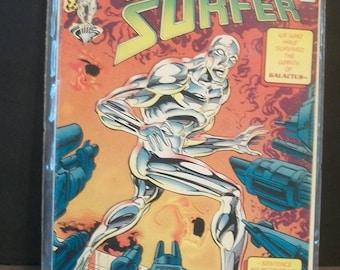 The Silver Surfer #103 (2nd Series)  Galactus Planet Survivors After Silver Surfer  Very Fine Unread Vintage  1995 Comic Book Marvel Comics