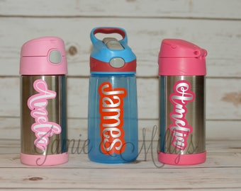 Name Decal for Water Bottle with Shadow Layer (or anything you want to personalize!) | vinyl name sticker | personalized gift | Yeti | RTIC