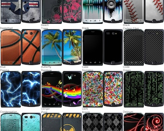 Choose Any 2 Designs - Vinyl Skins / Decals / Stickers for Kyocera Hydro Android Smartphone