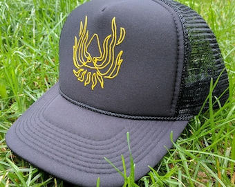 Squidbillies Firesquid Trucker Hat