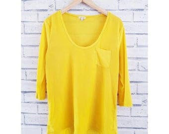 Yellow rover island top