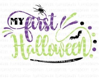 first halloween svg, my first halloween svg, 1st halloween svg, halloween svg files, boy halloween svg, baby halloween svg,