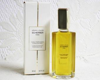 Jean-Louis Scherrer Concentrated Perfumed Oil, Scherrer Perfume, Vintage Scherrer Perfumed Oil, Classic Scherrer Perfume, Vintage Perfumes