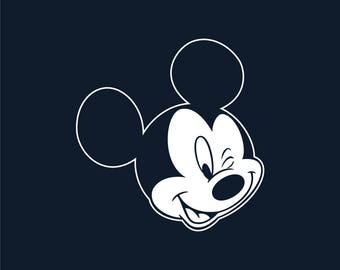 Mickey Mouse decal