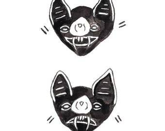 Bat Moods Print