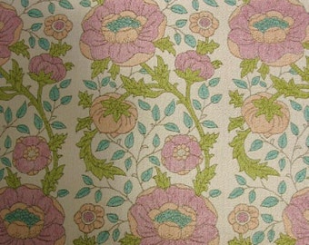 Vintage Wallpaper by the Metre 70s Retro Wallpaper - kukka tapetti ja 70 | cas 28 cas 38