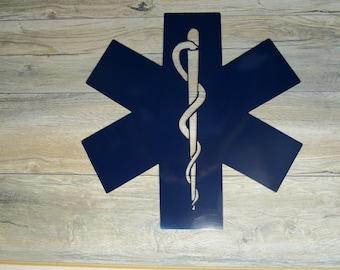 EMT Emblem wall art