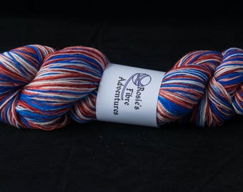 Hand painted. Sock yarn. Merino and nylon sock yarn. UK indie dyer. Ideal for sock knitting. Merino sock yarn. Sock knitting yarn.