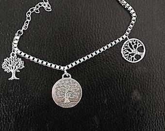 Yggdrasil tree of life Celtic bracelet