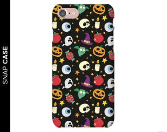 Halloween Phone Case, Holiday Phone Case, iPhone 7 Halloween Case, iPhone 7 Case, Samsung Phone Case, Samsung Case, Skull Phone Case