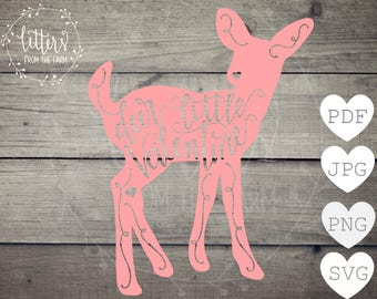 Valentines Decor, Valentines Kids, Hand Lettered Valentine svg, Deer Valentine Printable, Deer Valentine Cut File, Deer SVG, PDF, PNG