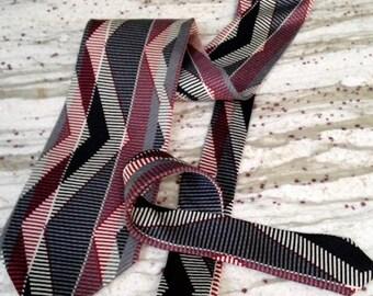 Vintage Silk Jhane Barnes Necktie, Never Worn, W/Tags