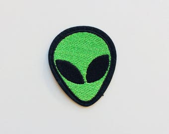 Sale | Alien | 90s | Rave | Patches | Patch | Hipster | Trendy | Emo | DIY | Fashion | Cute | Retro