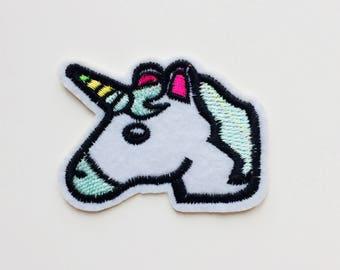 Unicorn   Emoji   Patch   Cute   Hipster   Trendy   Emo   DIY   Fashion   Retro