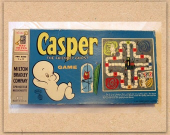 1959 Vintage Board Game – Casper The Friendly Ghost – Milton Bradley
