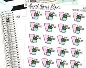 Skin Care Planner Stickers - Beauty Planner Stickers - Doodle Planner Stickers - Me Time Stickers - Relax Stickers - 1637