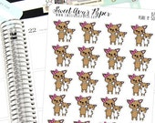 Mother and Son Planner Stickers - Family Planner Stickers - Mom Planner Stickers - Character Planner Stickers - Dog Planner Stickers  - 1579