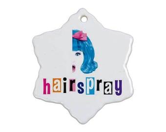 Hairspray Musical Christmas Ornament