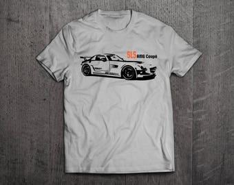 Mercedes AMG Shirts, Mercedes SLS t shirts, SLS shirts, Cars shirts, men t shirt, women t shirt, amg shirts, muscle car shirts Benz t shirt
