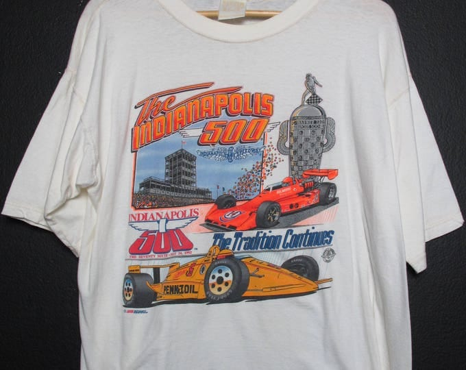The Indianapolis 500 1992 Vintage Tshirt