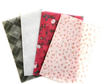 Mistletoe Kisses Vellum TN Inserts