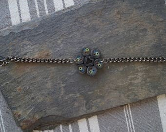 Black cable bracelet