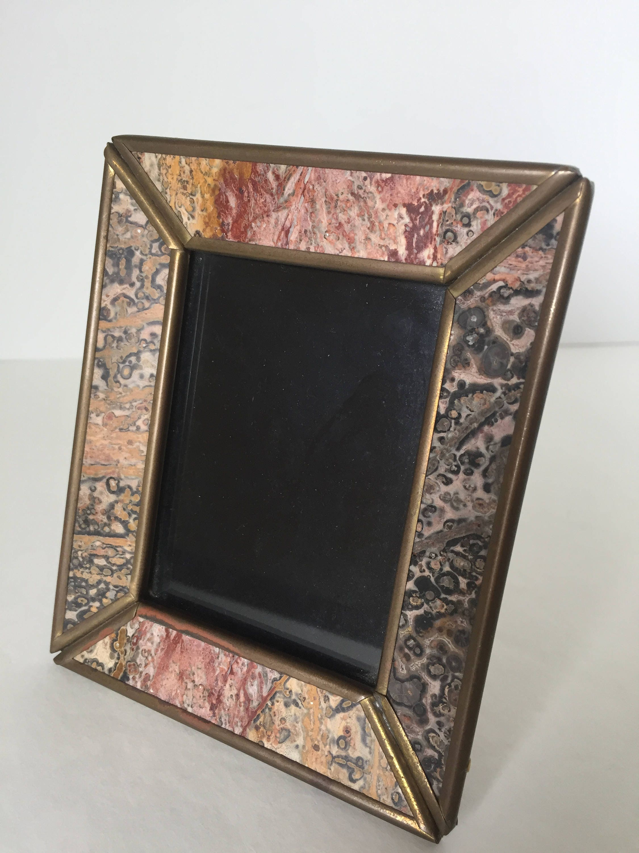 Vintage picture frame unique brass frame 2 x 3 picture frame get shipping estimate jeuxipadfo Choice Image