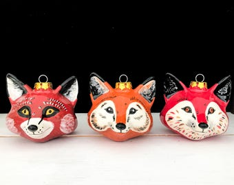 Woodsy Fox Bauble