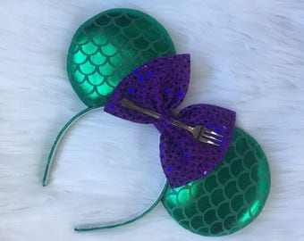 Little Mermaid Disney Ears
