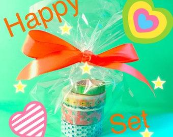 Happy washi taoe set