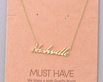 Nashville Necklace 16""