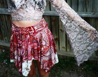 Gypsy goddess pixie flow fairy skirt <3