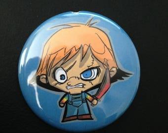 Itty Bitty Chucky Button