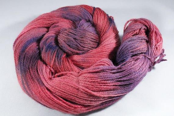 Hand Dyed 4ply Yarn Merino - Goji Berry