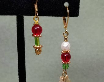 Delicate Beaded Earrings