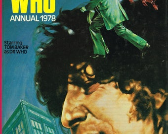 The Dr Who Annual - 1978  - Hard cover book