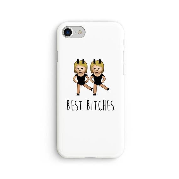 Best b*tches emoji - iPhone 7 case, samsung s7 case, iphone 7 plus case, iphone se case 1P008