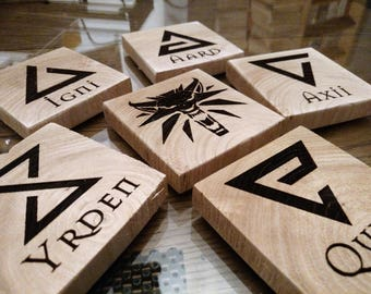 Witcher Coasters