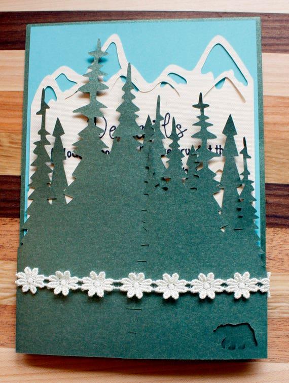 Woodlands Wedding Invitation Suite - Sample
