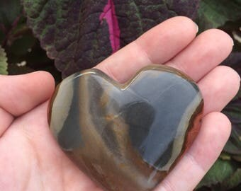 Polychrome Jasper Heart (67g)