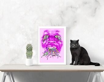 Stormzy wall art, home decor, poster, digital printable art