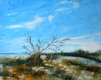 "Painting ""Wild Landes and Swamp"""