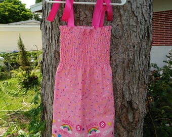 Shopkins rainbows and sprinkles Toddler Girl Dress