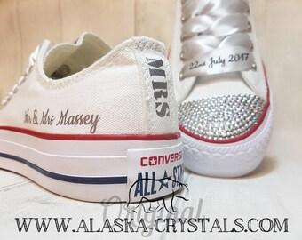 Wedding converse | Etsy