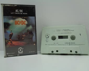 AC/DC Let There be Rock Cassette