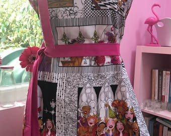 Gorgeous fully lined 100% cotton apron