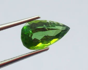1.35 Carat Green Color Loose Gemstone Tourmaline @ Afghanistan11.5*7*6mm (13)
