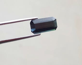 2.40 Carat Blue Indicolite color loose tourmaline gemstone from@ Afghanistan 11*6*4mm (11)