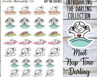 Nap Time Darlings Planner Stickers