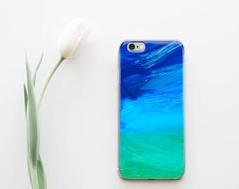 Blue Green Dreams - iPhone Case-  - free shipping